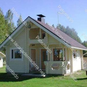 Casa de madera SEVILLA nueva a estrenar de 1 planta de 36 m2 + buhardilla de 18 m2 = 54 m2