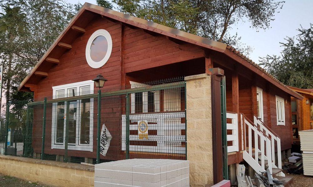 Casa De Madera En Sevilla Modelo Rocio Esta De 40m2 En 1 Planta La Casa De Madera